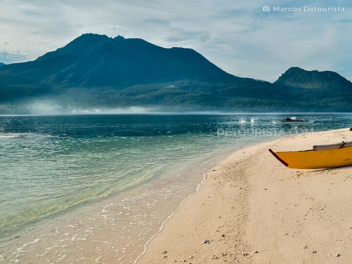 White Island in Camiguin, Philippines