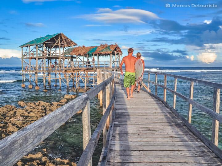 Cloud 9 Boardwalk, Siargao Island