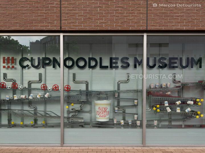 Cup Noodles Museum in Yokohama, Japan