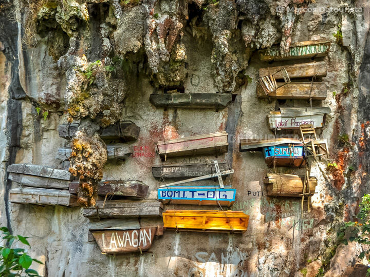 Hanging Coffins in Sagada, Mountain Province, Philippines