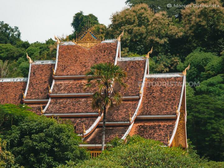 Haw Pha Bang Temple at the Luang Prabang Royal Palace Museum, La