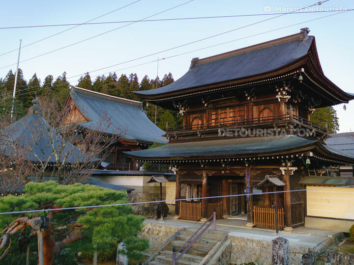 Higashihayashiyamadaio Temple in Takayama, Gifu, Japan