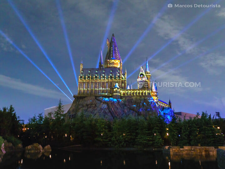 Howarts Castle at The Wizarding World of Harry Potter, Universal