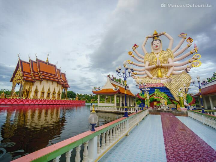 Koh Samui Temple - Wat Plai Laem