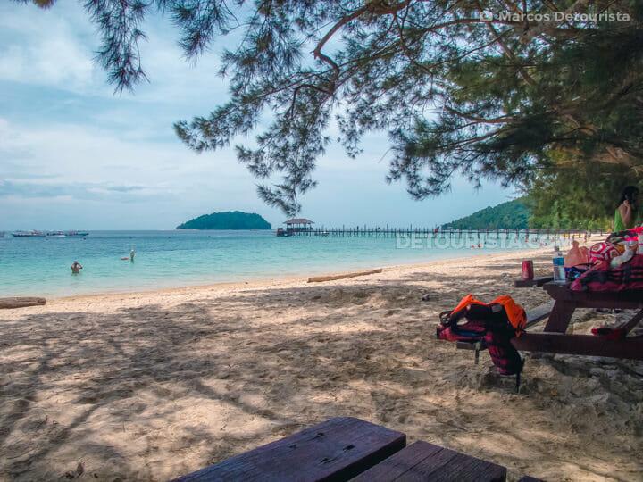 Manukan Island in Tunku Abdul Rahman National Park, Kota Kinabal