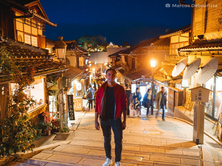 Marcos at Kyoto Old Town