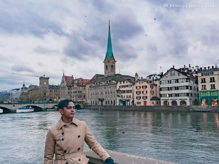 Marcos in Zurich, Switzerland