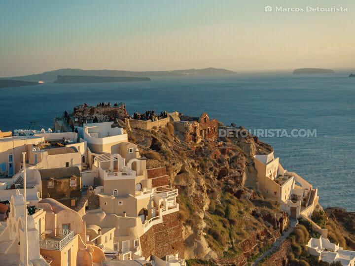 Oia Castle & Byzantine Castle Ruins, Santorini