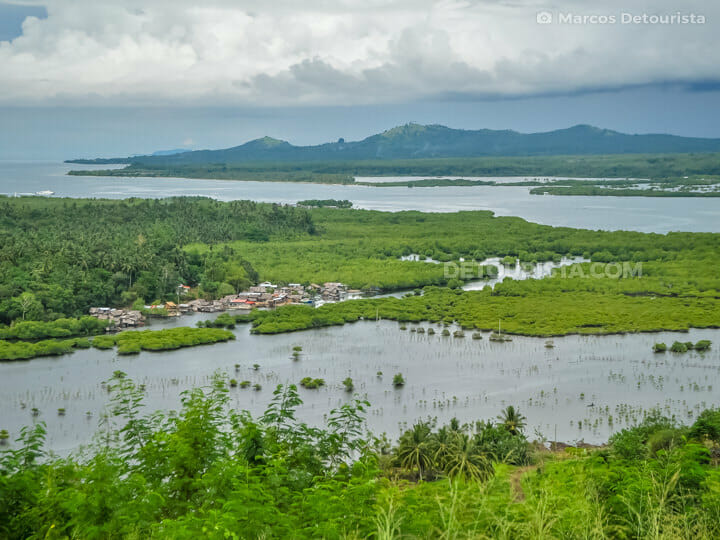 Overlooking Malamawi Island, in Isabela City, Basilan, Philippines