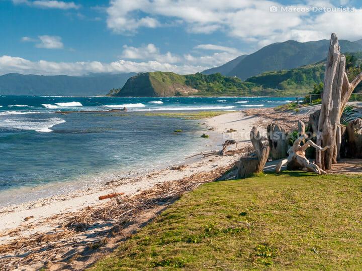 Maira-ira Beach in Pagudpud, Ilocos Norte, Luzon,  Philippines