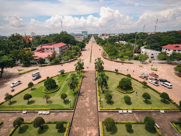 Patuxai Victory Monument, Vientiane