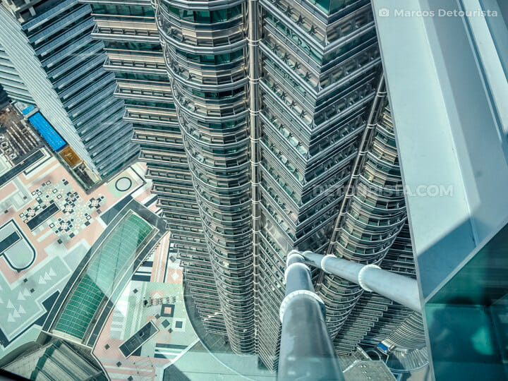 Petronas Towers SkyBridge view