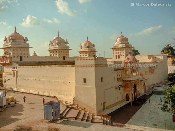 Ram Raja Temple view from Chaturbhuj Temple, Orchha
