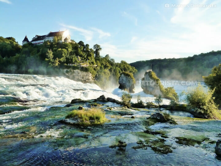Rhine Falls, near Zurich, Switzerland