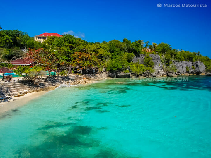 Salagdoong Beach in Siquijor, Philippines