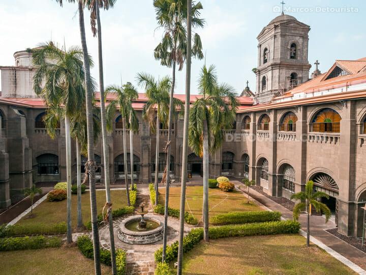 San Augstin Museum (San Agustin Church) - Inner Courtyard