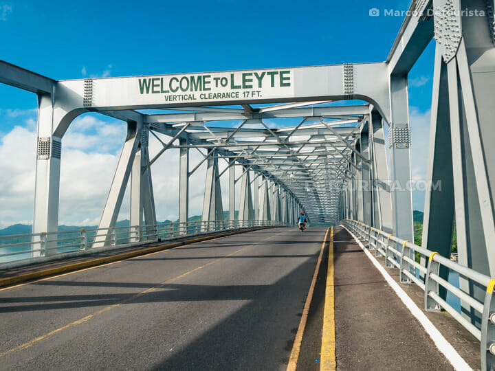 San Juanico Bridge in Leyte-Samar, Philippines