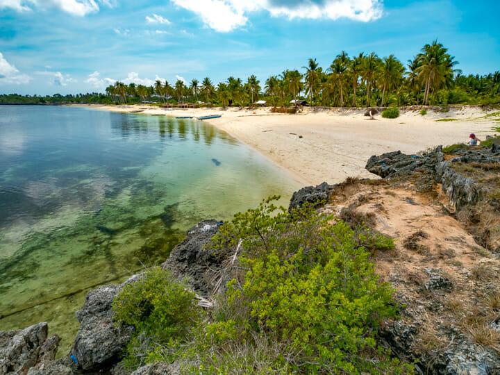 Sibato Island white-sand beach