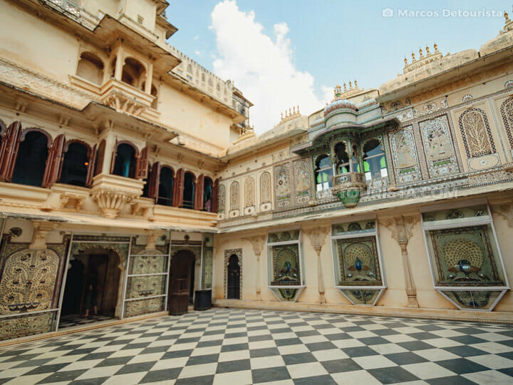 Udaipur City Palace and Museum, India