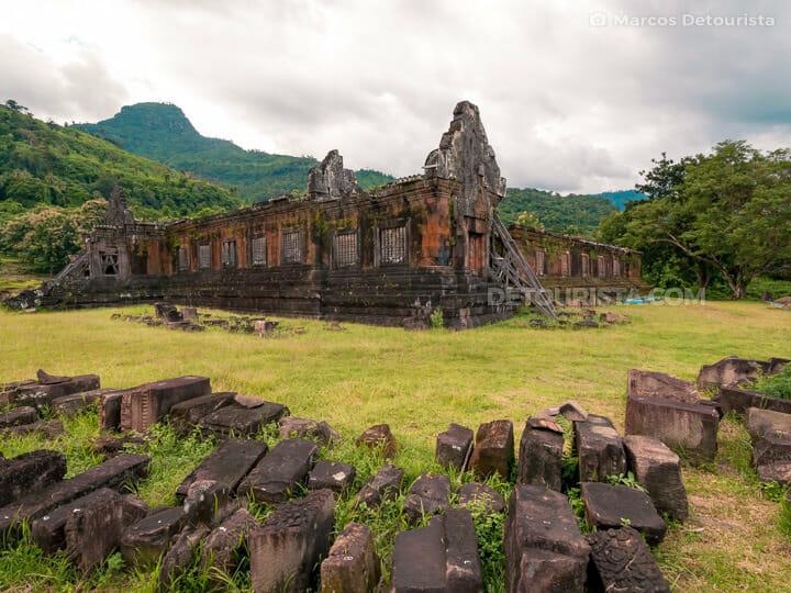 Vat Phou (temple) in Champasak, Laos