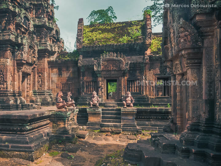 Banteay Srei in Angkor, Siem Reap, Cambodia