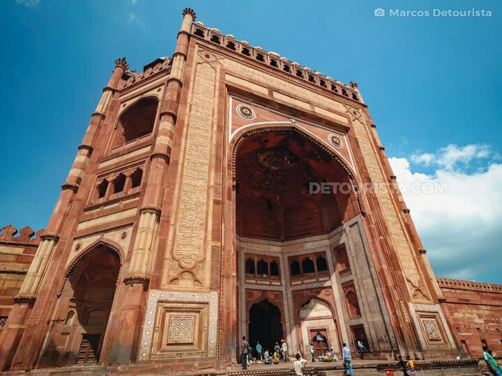 Jama Masjid (mosque), Fatehpur Sikri near Agra