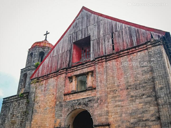 Lazi Church (San Isidro Labrador Parish Church) in Siquijor, Philippine
