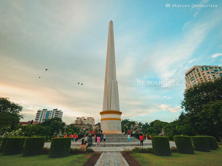 Maha Bandoola Park and Independence Monument, Yangon, Myanmar