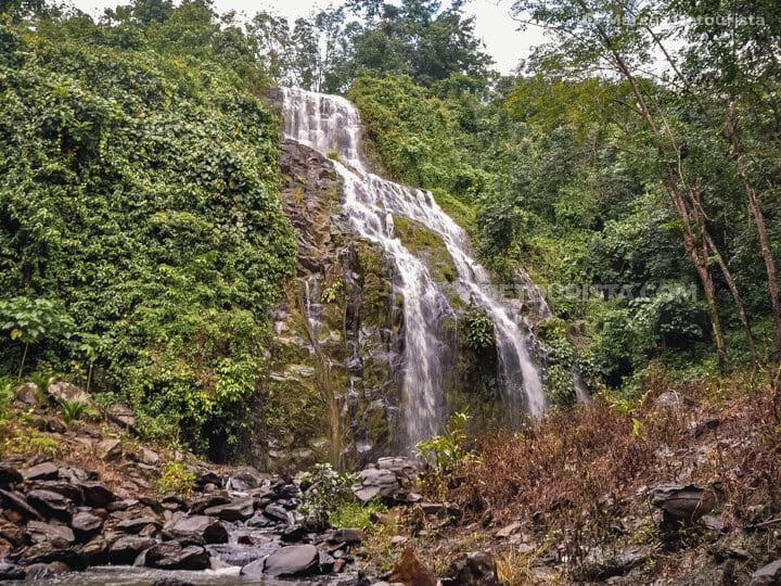 Maligue Falls in Isabela City, Basilan, Philippines