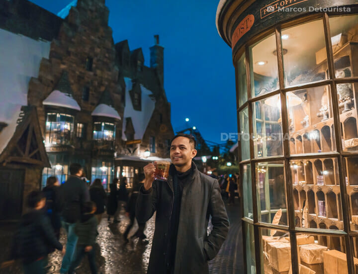 Marcos at Hogsmeade village, in Universal Studios Japan, Osaka