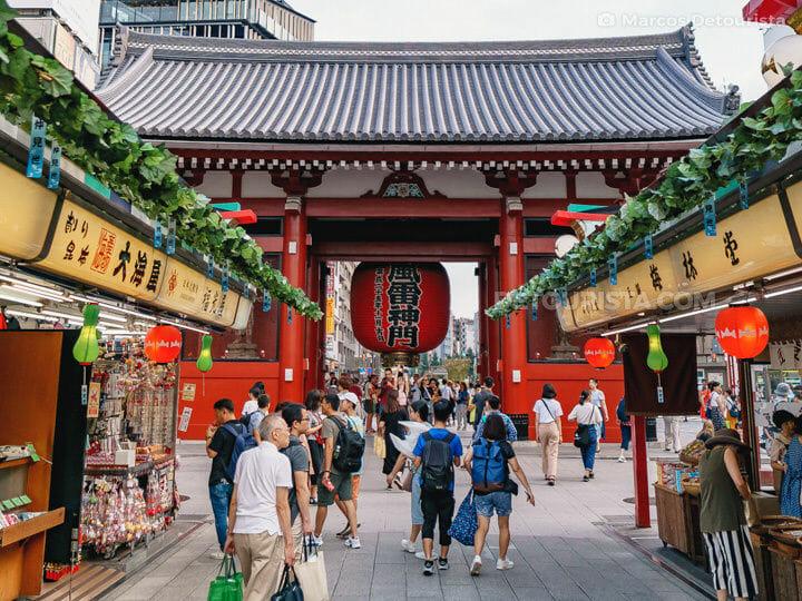 Nakamise Shopping Street, Tokyo