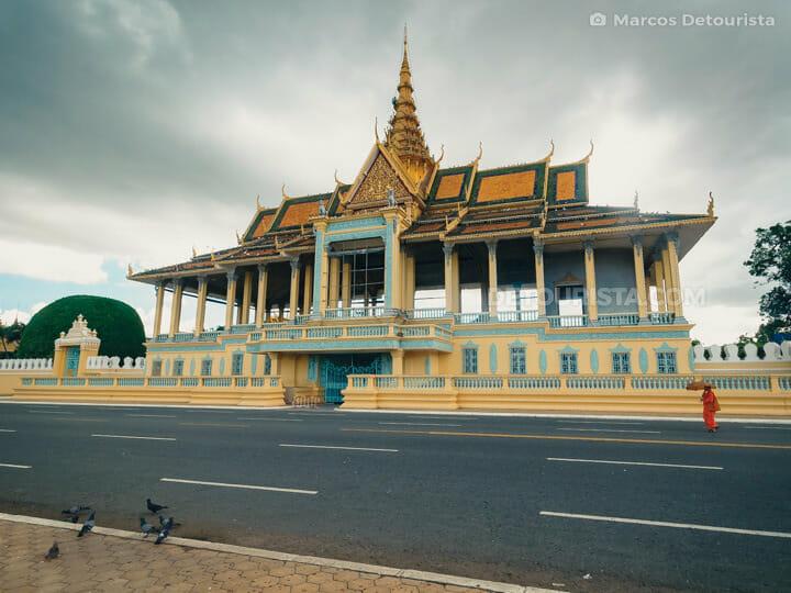 Preah Thineang Chan Chhaya (pavillion) at the Royal Palace, in P
