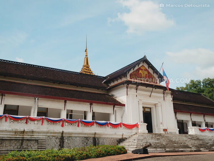 Royal Palace Museum in Luang Prabang, Laos