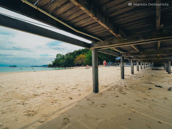 Sapi Island in Tunku Abdul Rahman National Park, Kota Kinabalu,