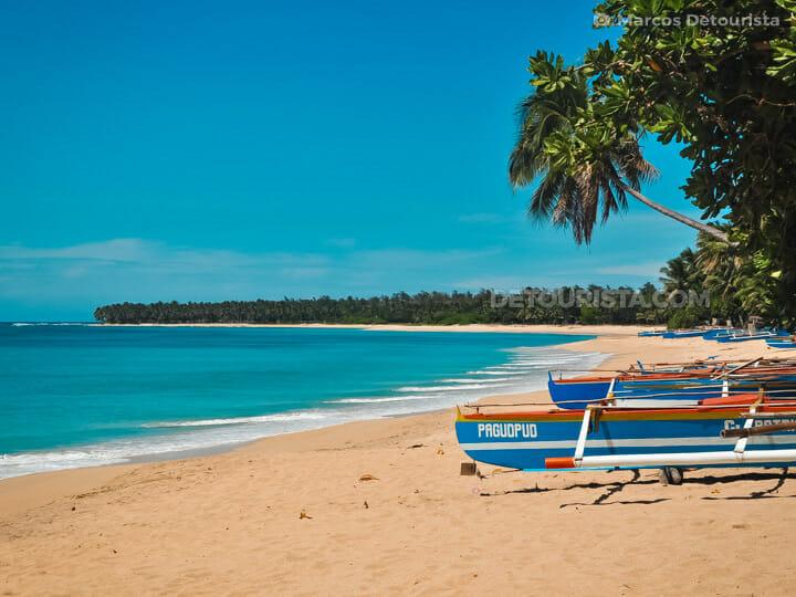 Saud Beach in Pagudpud, Ilocos Norte, Luzon,  Philippines