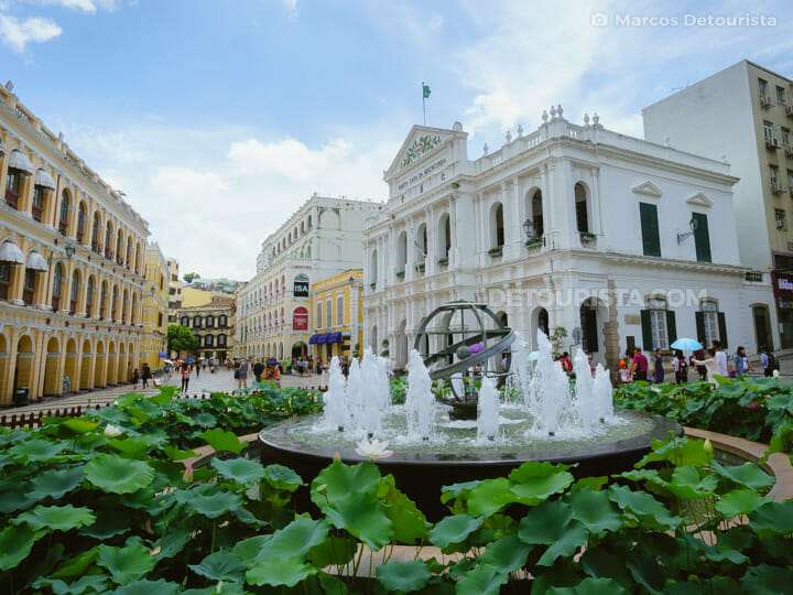 Senado Square in Macau, China
