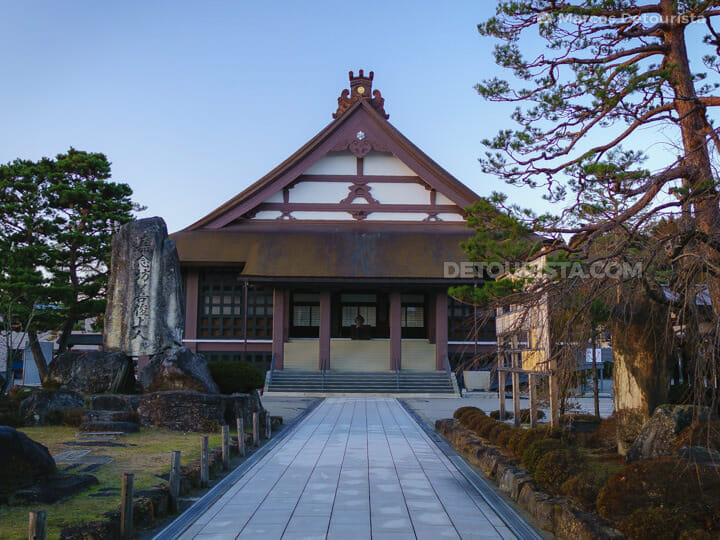 Shinshuotaniha Shoren Temple in Takayama, Gifu, Japan