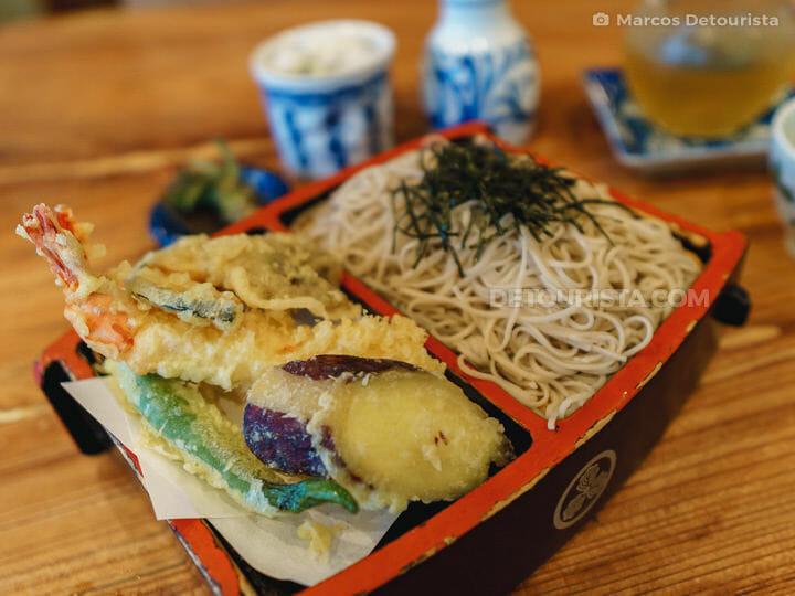 Soba Noodles at Kobayashi Soba in Matsumoto, Nagano, Japan