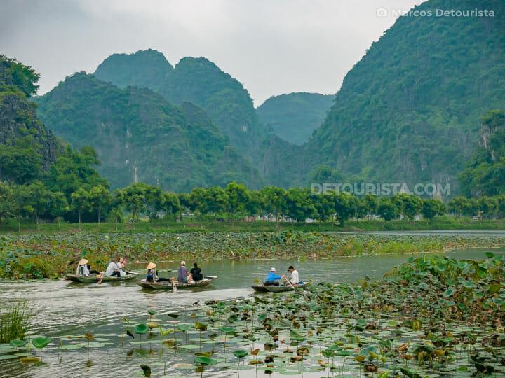 Tam Coc River Cruise in Ninh Binh, Vietnam