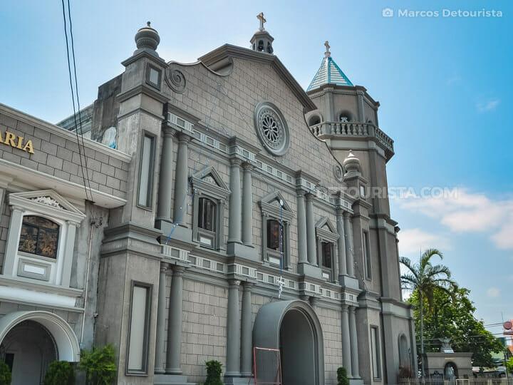 Balanga Cathderal (St. Joseph Parish Church) in Bataan, Philippines