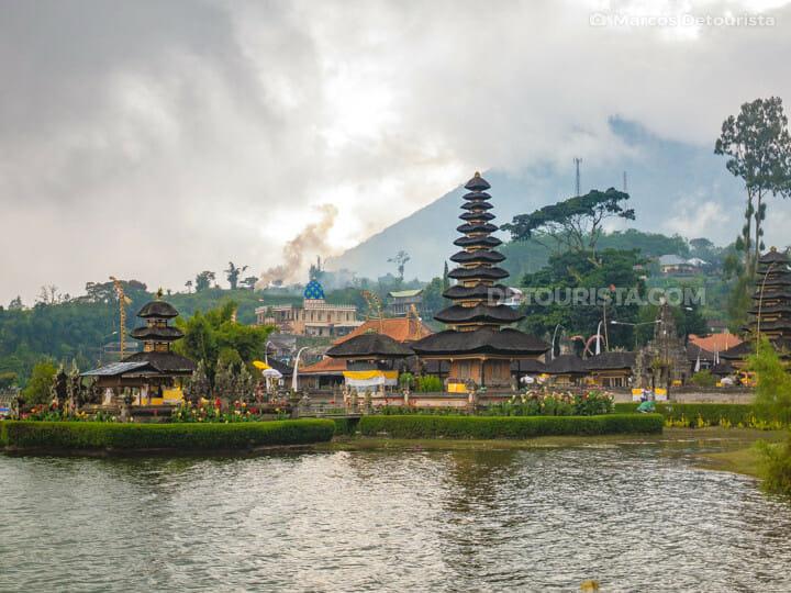 Pura Ulun Danu Bratan (temple) in Bedugul, Tabanan, Bali, Indonesia