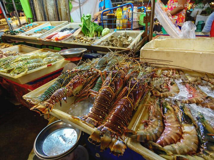 Banzaan Fresh Market seafood, Phuket