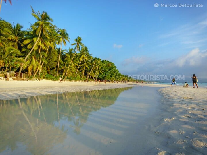 White Beach in Boracay, Malay, Aklan, Philippines