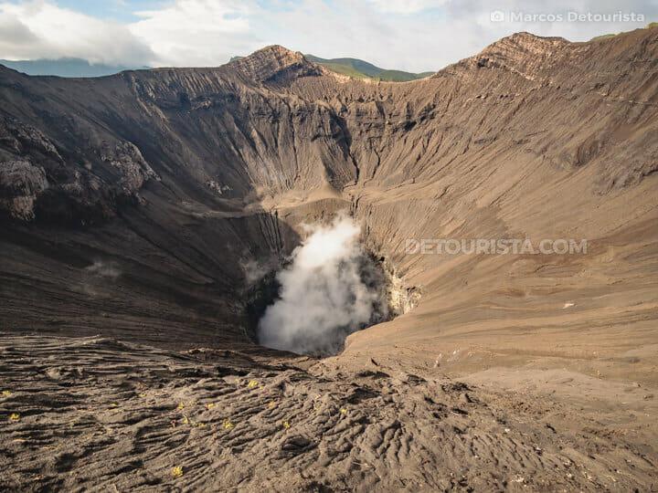Bromo Volcano Crater, Mount Bromo