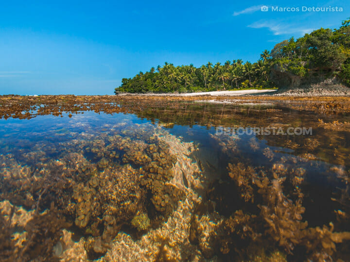 Cloud 9 beach, Siargao Island