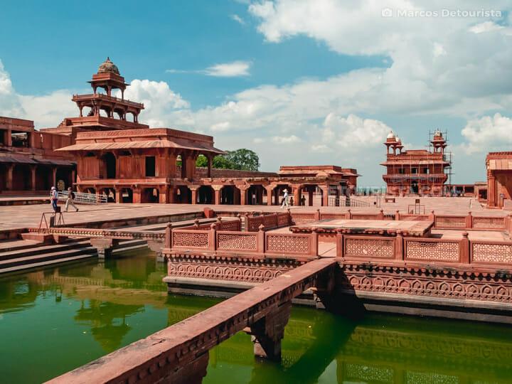 Fatehpur Sikri Fort near Agra