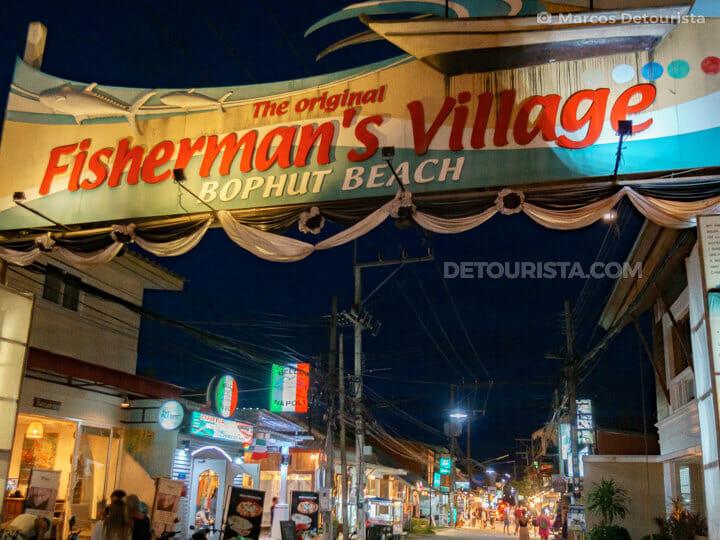Fisherman's Village Bo Phut Beach, Ko Samui