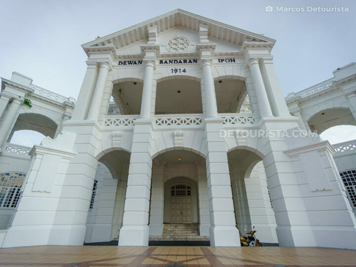 Ipoh Town Hall, in Ipoh, Malaysia