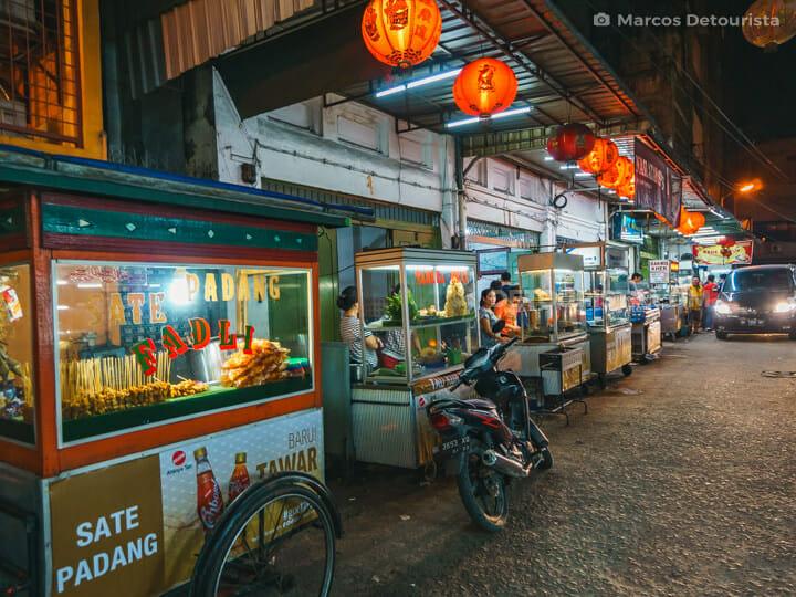 Jalan Selat Panjang Food Alley, Medan