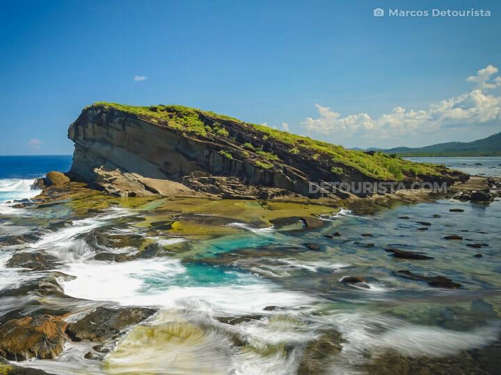 Magsapad Rock Formation, Biri, Samar, Philippines